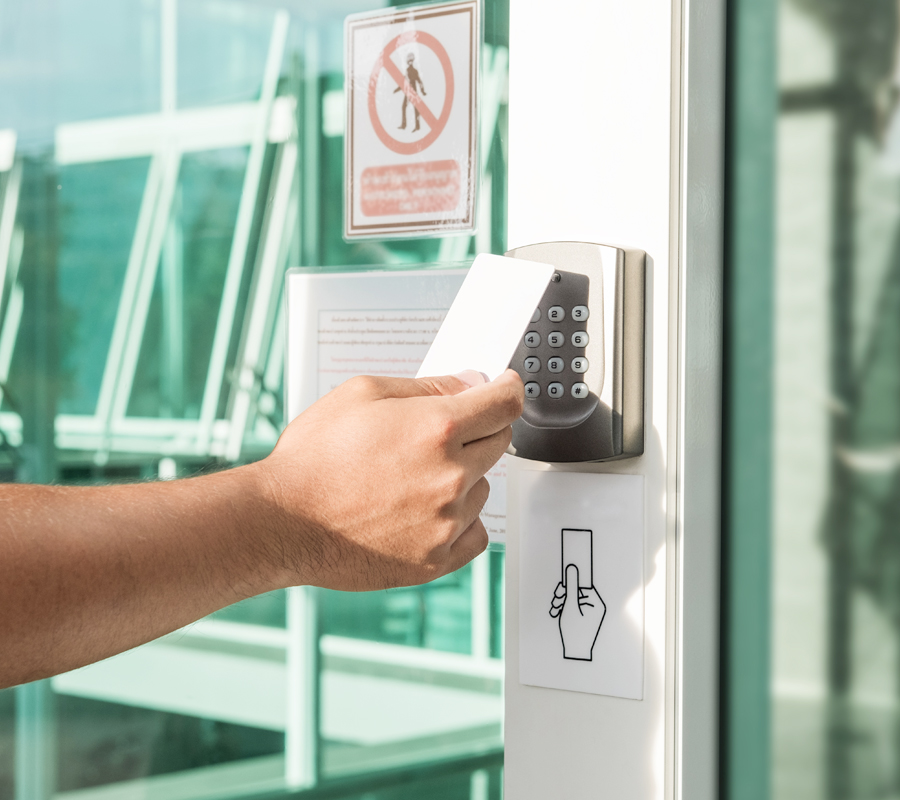 ETI Security System provides business access control systems to businesses all over Ireland